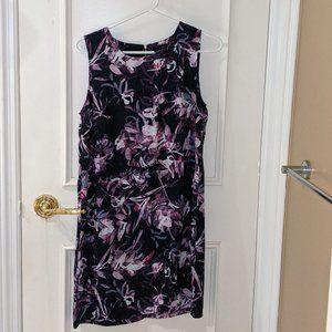 Adrienne Vittadini Floral Sleeveless Tank Dress